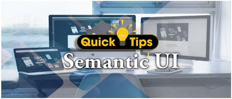 Semantic UI - DotNetKida