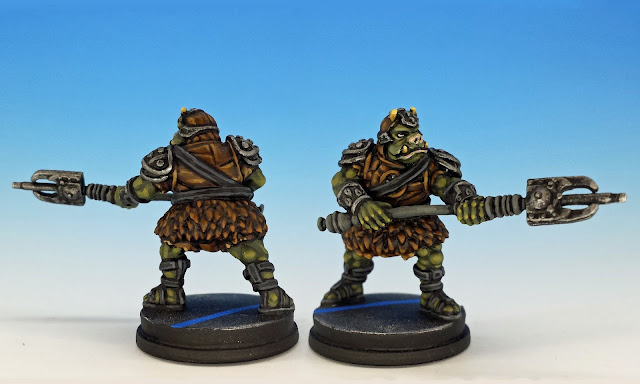 Gamorrean Guard, Imperial Assault (2016), painted miniature