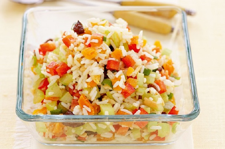 Rice Salad Recipe—Vegetarians Will Adore this!