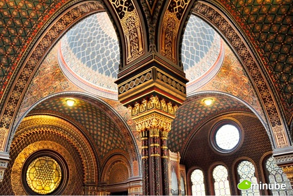 10.) Spanish Synagogue, Czech Republic - The 19 Most Stunning Sacred Places Around the World