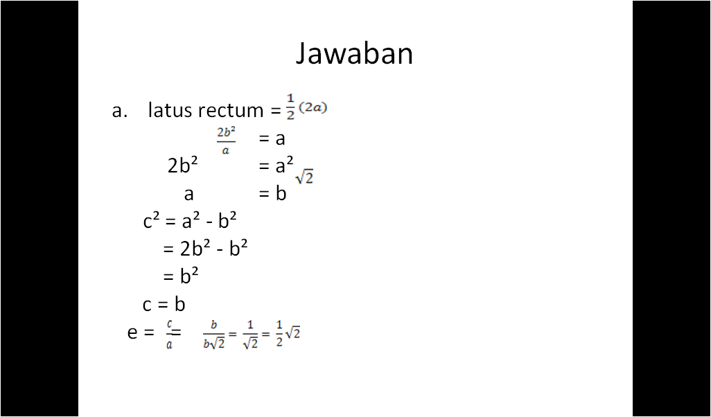 Matematika Peminatan Elips Lks 2 Soal Dan Pembahasan Kelas Xi Semester 1 Part 1 Gulali Beku
