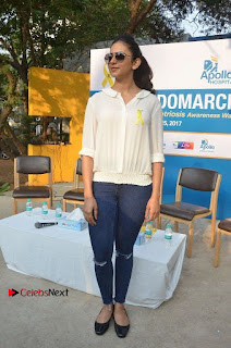 Actress Rakul Preet Singh at Endometriosis Awareness Walk at Apollo Cradle  0113.jpg
