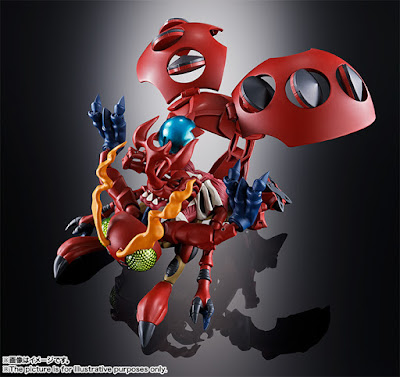 "Primer vistazo a Digivolving Spirits Tentomon y Alturkabuterimon de ""Digimon Adventure"" - Tamashii Nations"