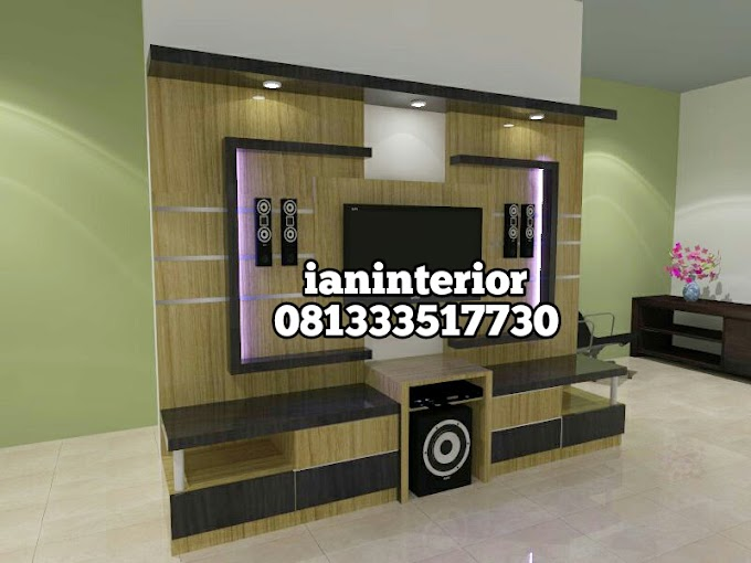 Furniture Interior Rak TV /backdrop