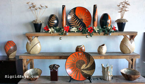 home decors - Josephine Locsin - Tumandok Crafts Industries - #PleaseSaveMe - finances - fire - fire insurance - insurance money - Philippine handicraft - resin laminated houseware - Association of Negros Producers - Negros Showroom - hand painted - artisanal products - natural materials - Bacolod blogger - #PlsSaveMe