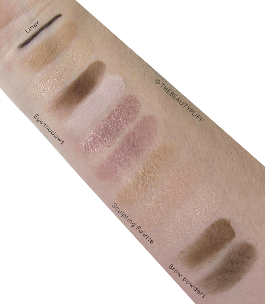 ulta beauty favorites kit swatches - the beauty puff