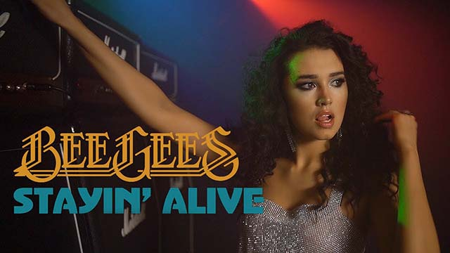 "Bee Gees - ""Stayin' Alive"""