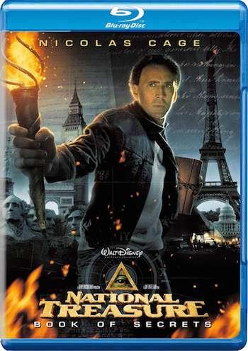 National Treasure Book Of Secrets 2007 Dual Audio Hindi 480p BRRip 300mb x264