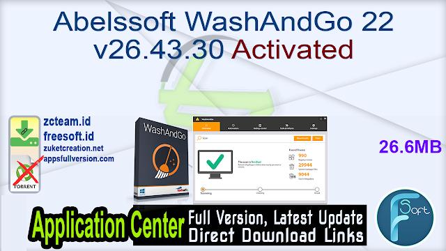 Abelssoft WashAndGo 22 v26.43.30 Activated_ ZcTeam.id