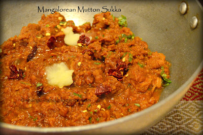 Mangalorean Mutton Sukka