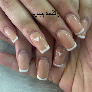 Two Colored Nail Designs
