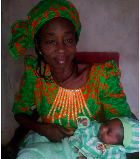 60-year-old Nigerian woman gives birth after 30 years of marriage