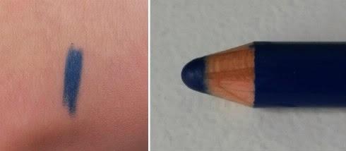 Colour Kajal KIKO blue bleu foncé