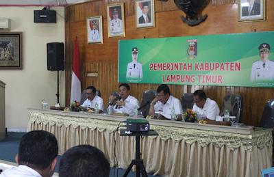 Pemkab Lampung Timur Tekad Genjot PAD