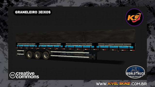 GRANELEIRO 3EIXOS - BLACK 3.0