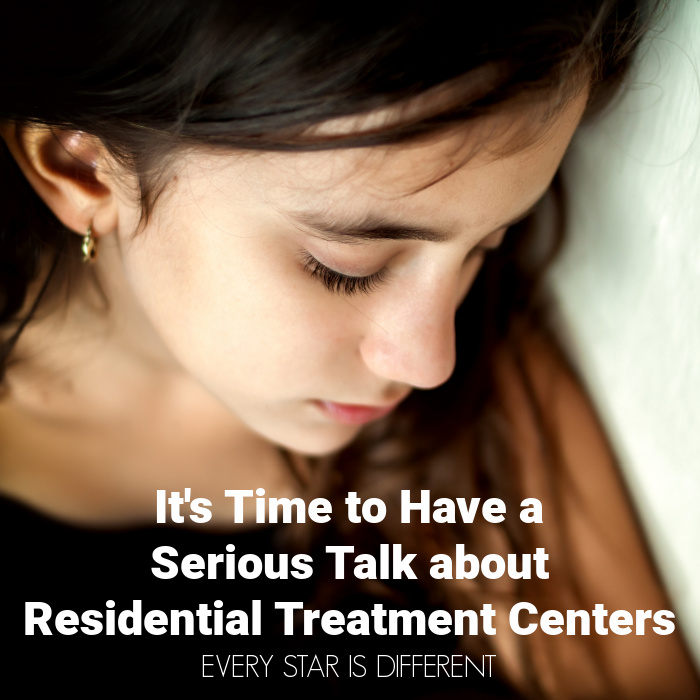 It's Time to Have a Serious Talk about Residential Treatment Centers