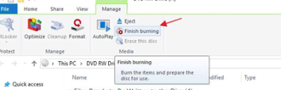 Cara Burning CD di Windows 10.