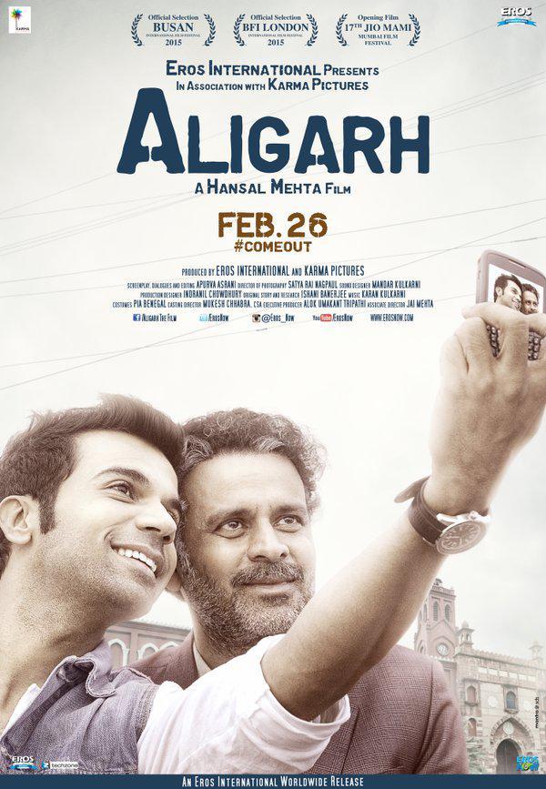 Watch Aligarh (2016) DVDRip Hindi Full Movie Watch Online Free Download