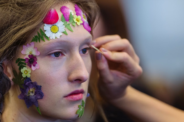 Preen Spring 2017 Beauty