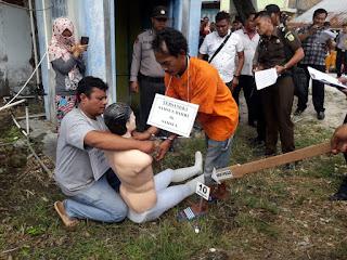 Polsek Medang Deras Gelar Rekontruksi Pembunuhan Noni