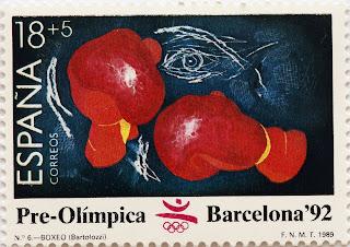 PRE-OLÍMPICA BARCELONA 92. BOXEO