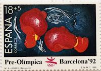 PRE-ÓLÍMPICA BARCELONA 92. BOXEO