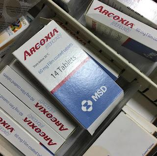 أقراص أركوكسيا مسكن للآلام ومضاد للالتهابات Arcoxia Tablets