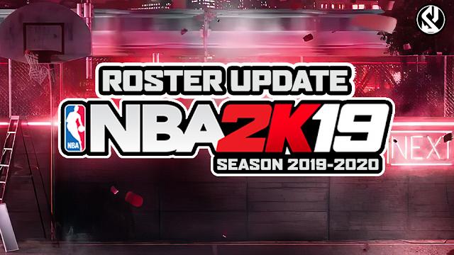 NBA 2K19 Shuajota´s Roster Update Season 2019-2020 Released