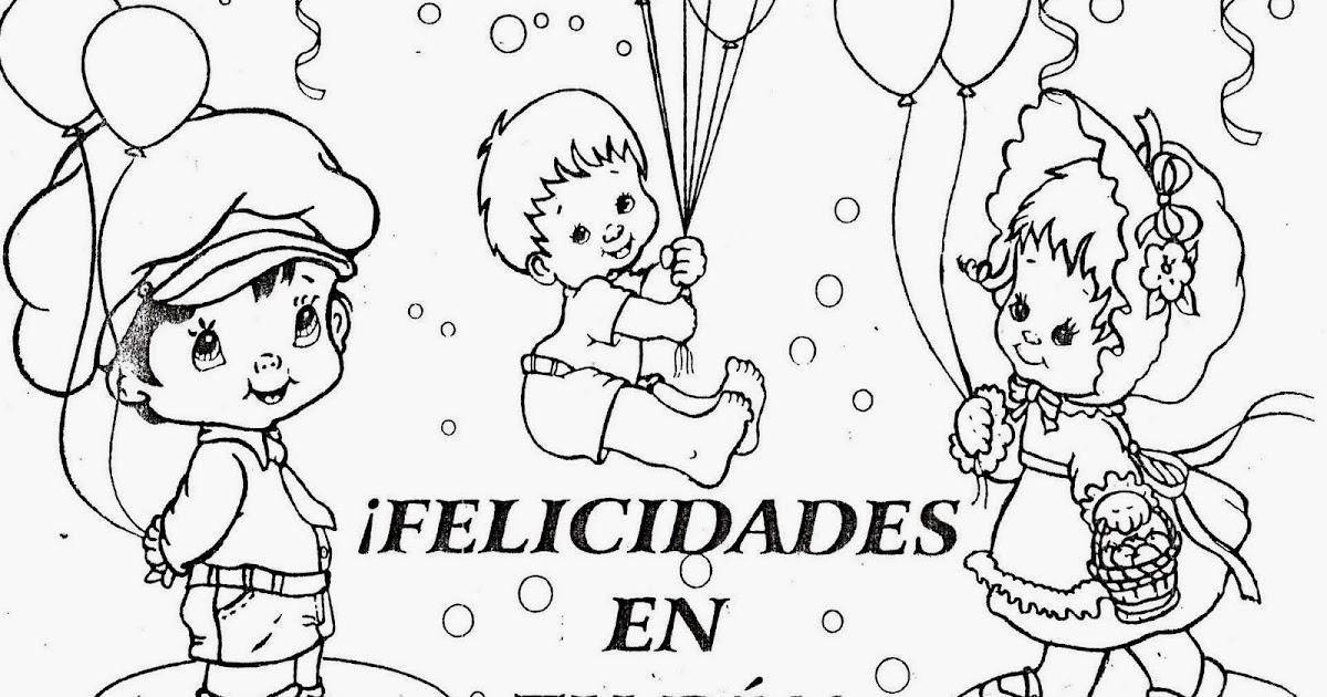 Disney Cumpleanos Para Colorear: Dibujos Para Colorear Cumpleaños