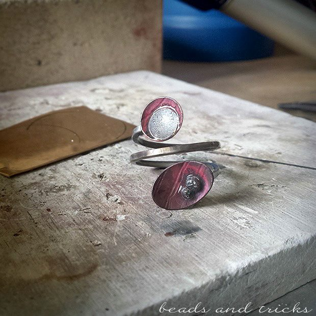 Atelier 10, Made in Italy, Handmaker's Brunch, work in progress Beads and Tricks