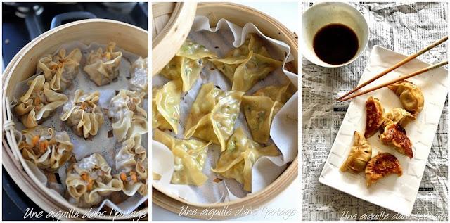 dumplings/popstickers