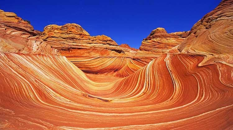 The Wave, Arizona, wisata menakjubkan,tempat wisata
