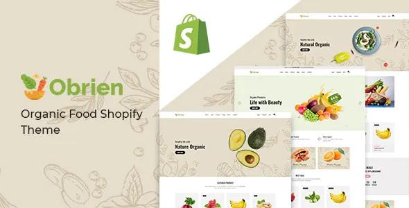 Best Organic Food Shopify Theme