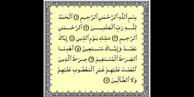 Al-fatihah, bid'ah seputar al-fatihah, Kesalahan dalam mengamalkan al-fatihah
