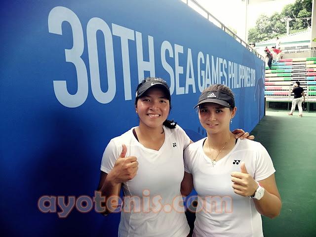 Tenis SEA Games: Singkirkan Minh Trang Dao/Csilla Fodor, Bea/Echi Persembahkan Medali bagi Indonesia