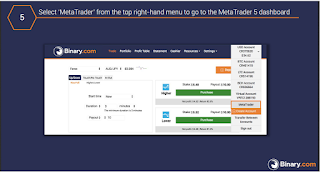 CARA MEMBUKA AKUN METATRADER5 (MT5) BINARY.COM