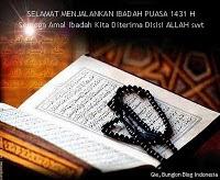 Marhaban Ya Ramadhan 1434 Hijriah
