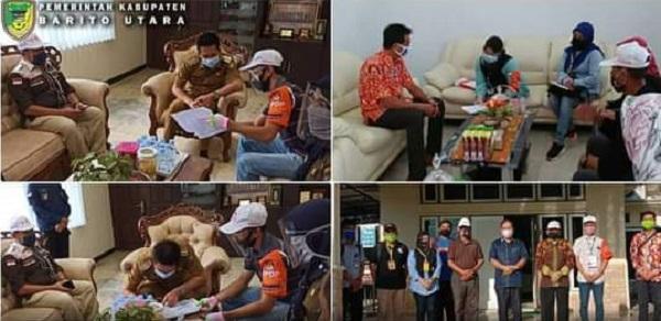 KPU Barito Utara Apresiasi Seluruh Komponen Atas Suksesnya