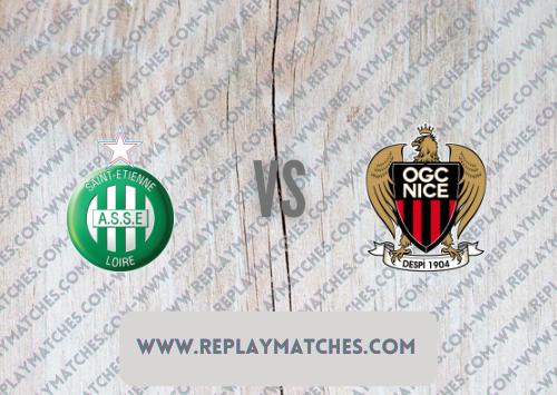 Saint-Etienne vs Nice Highlights 25 September 2021