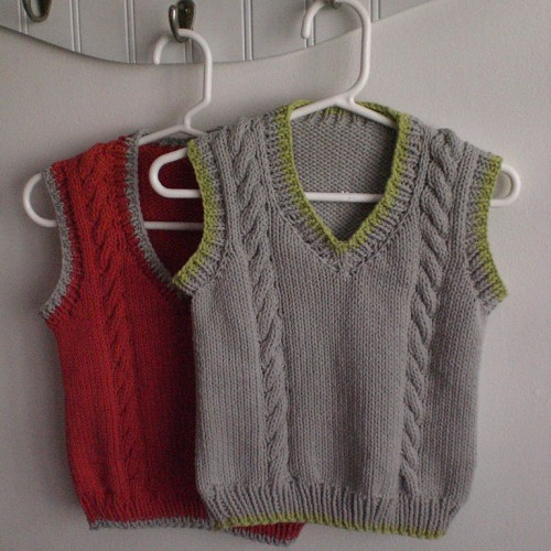 Cable Vest - Free Pattern