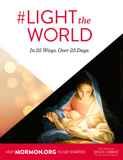 A Year of FHE: LIGHT THE WORLD // In 25 Ways. Over 25 Days.