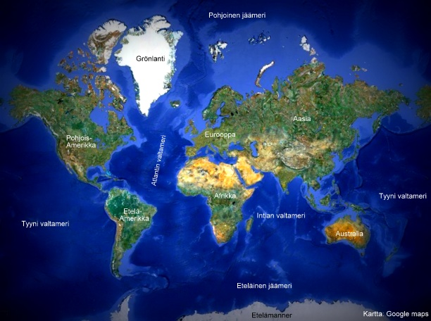 Maailman Valtameret