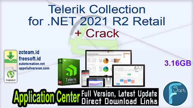 Telerik Collection for .NET 2021 R2 Retail + Crack_ ZcTeam.id