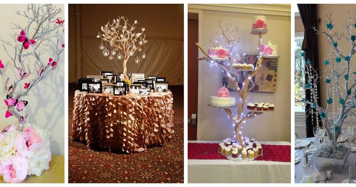 15 espectaculares manualidades decorativas con ramas de - Ramas de arbol para decoracion ...