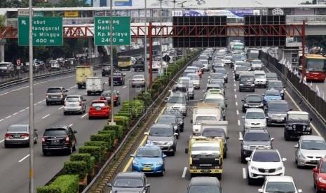28 Gerbang Tol  Berlaku Tilang Ganjil Genap di Jakarta