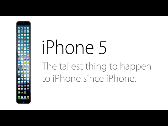 how long is the iphone 5 the iphone 5 ad a taller change damn 6112
