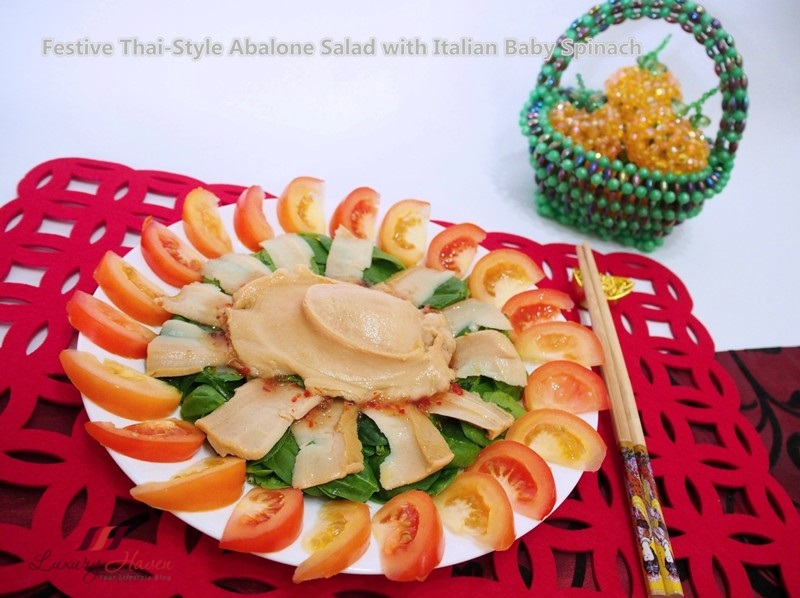 abalone with foglia sublime baby spinach recipes