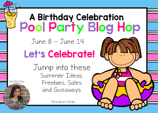Birthday Pool Party Blog Hop