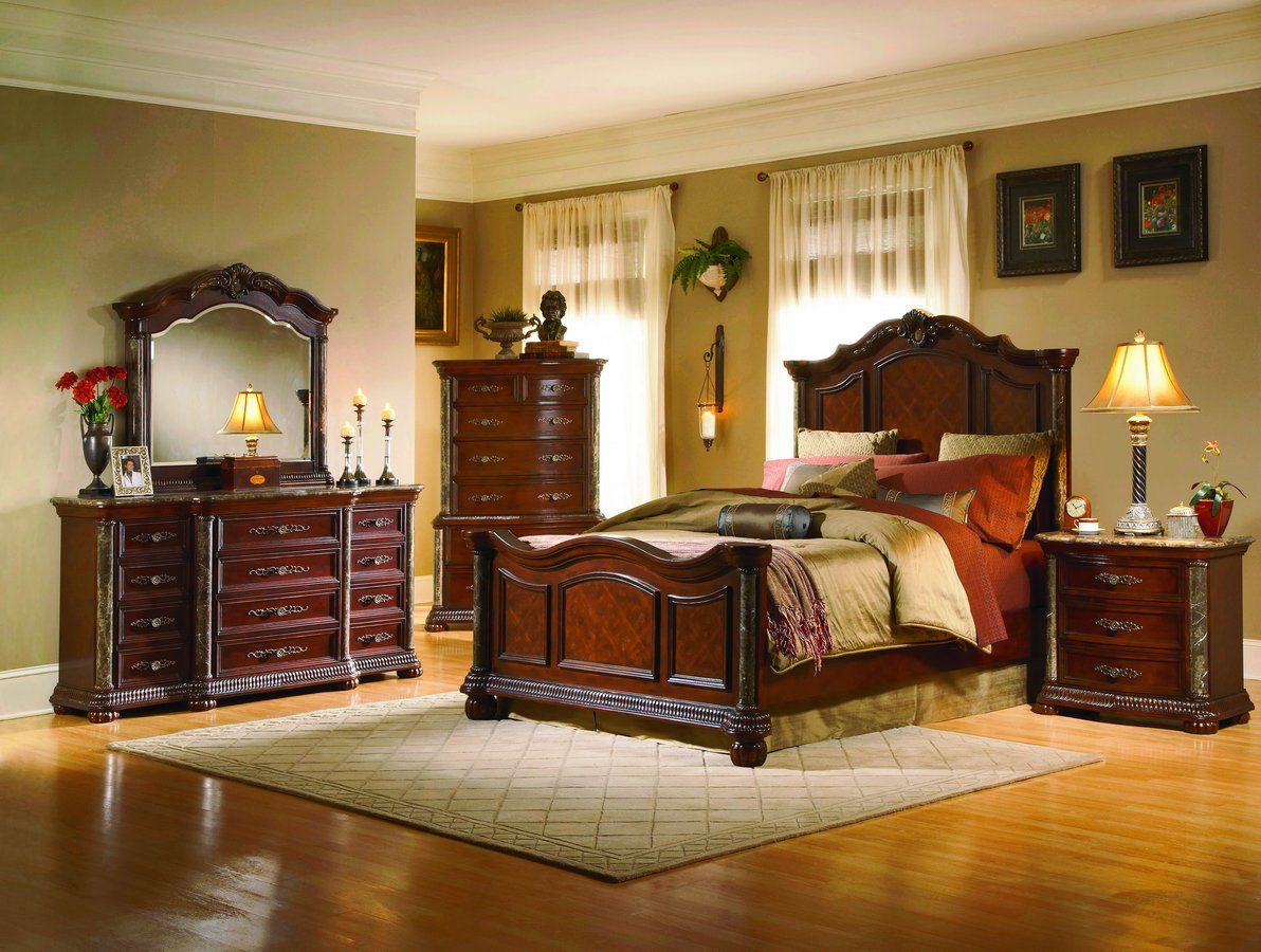 More Than  Beautiful Wooden Bed Designs That Are Timeless - Aico torino bedroom set
