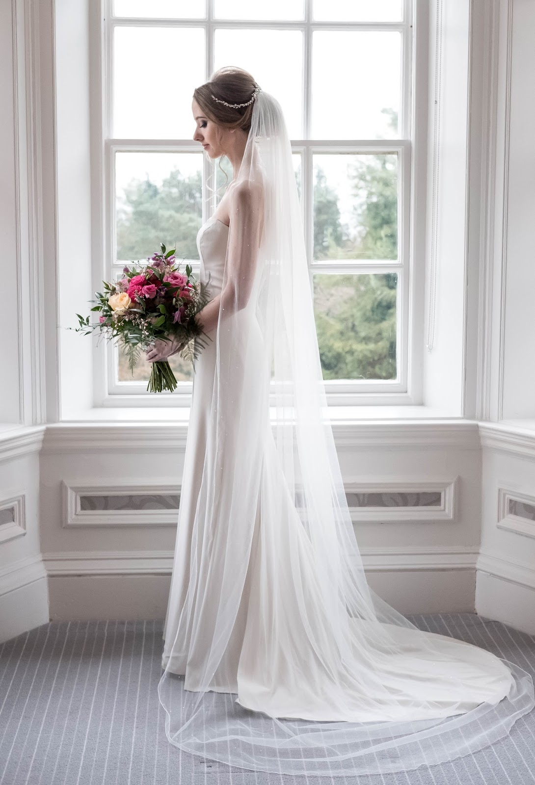 Wedding Full Length Super Long Bridal Veil